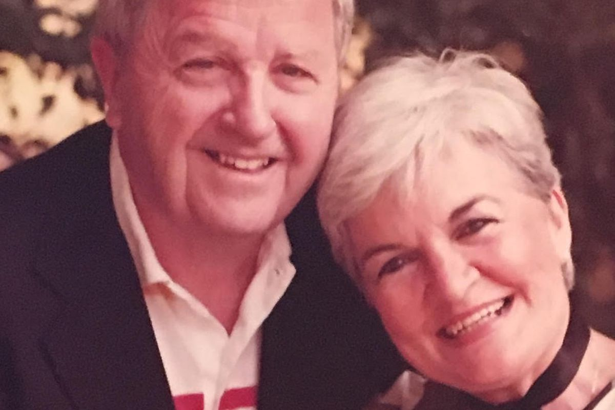 """Mille Cronin and her husband Ted got up on stage and sang after seeing """"Rock of Ages"""" on Broadway. """"It was always Mom's dream to sing in a Broadway show,"""" said their son Kevin Cronin, the frontman for the band REO Speedwagon. and even though the theater w"""