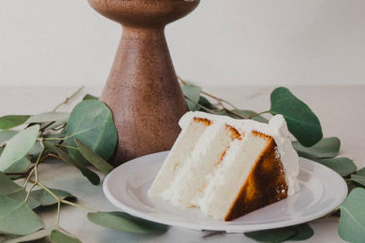 The lemon key lime pie dessert at Lark Cake Shop