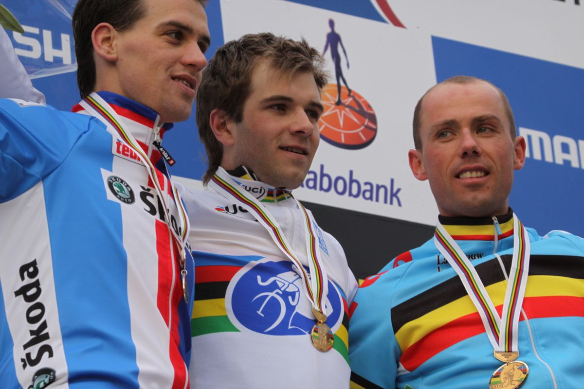 Sven, Albert, and Stybar were on the podium in Hoogerheide in 2009. Sunday's podium could look shockingly similar.