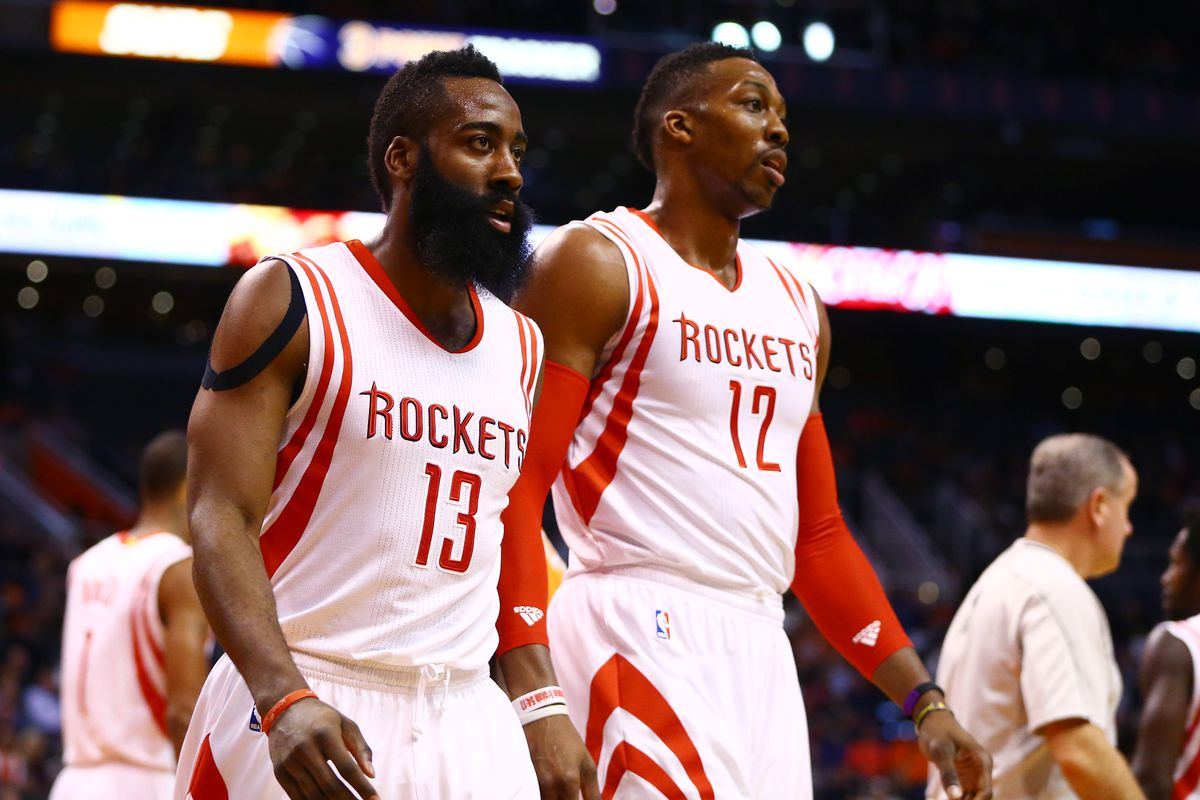 James Harden and Dwight Howard are two men on a mission to salvage an injury-plagued season.