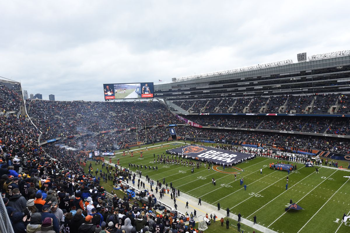 The Bears have a history of threatening to move to the suburbs to get improvements at Soldier Field.