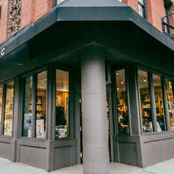"""<b>↑</b> Someday, Bleecker Street will be called Marc Jacobs Street. But for now, the designer's mini-empire of stores is just enough to outfit your entire life in MJ, and <b><a href="""" http://www.marcjacobs.com/special-items/bookmarc/ """">Bookmarc</a></b> ("""