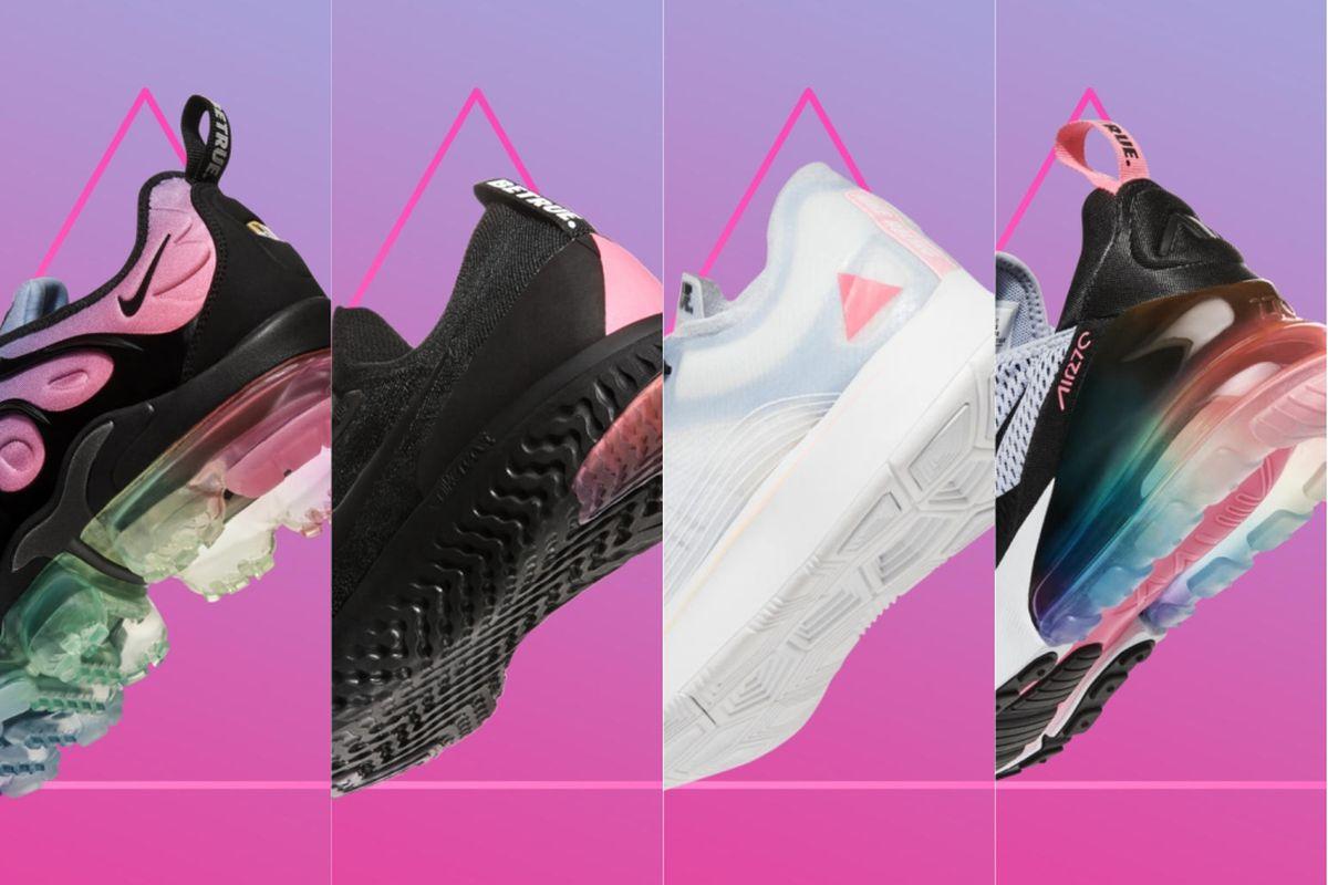 7e0e4229 Nike's BeTrue line gets a pink and lavender makeover for 2018 ...