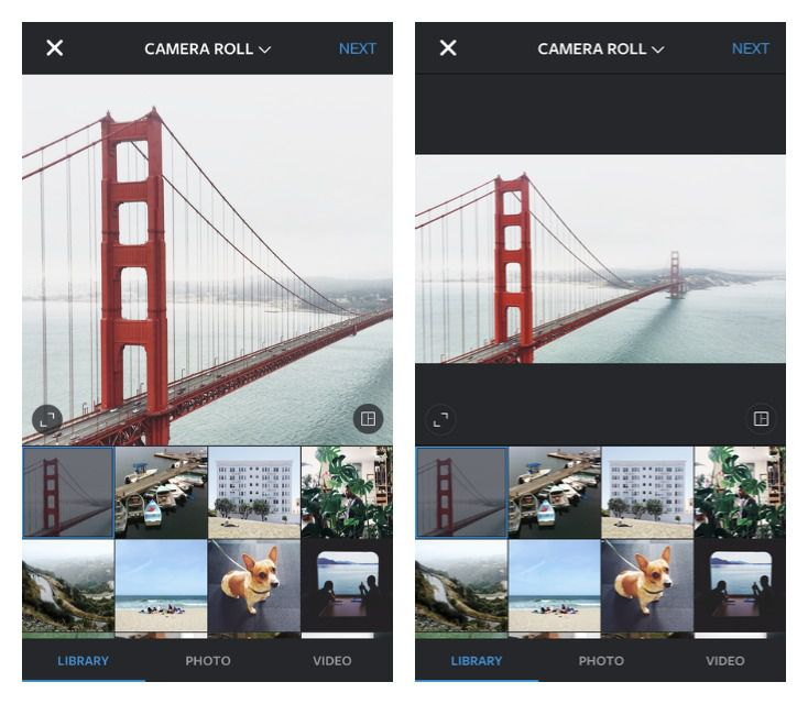 You can now post full-size landscape and portrait photos on ...