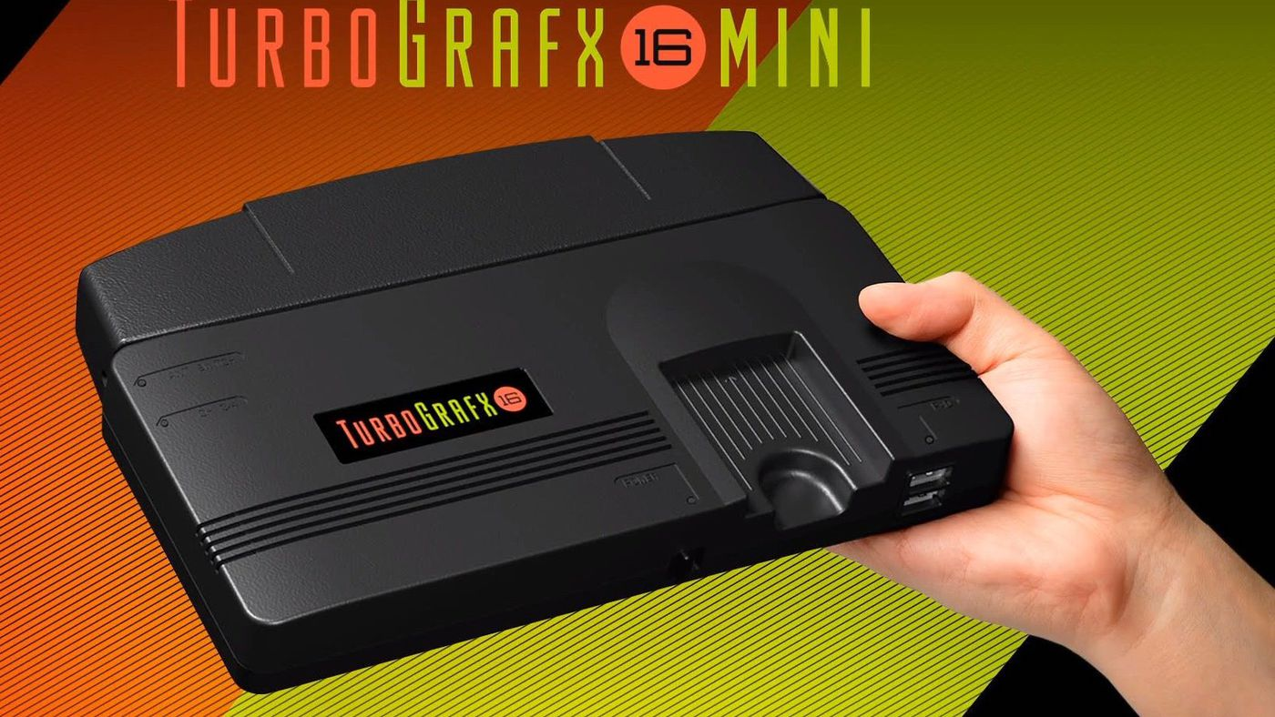 Konami announces TurboGrafx-16 Mini console - The Verge