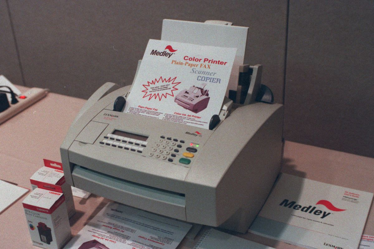 Strictly Business Preview. The Medley color printer which also is a scanner, copier and plain paper fax machine
