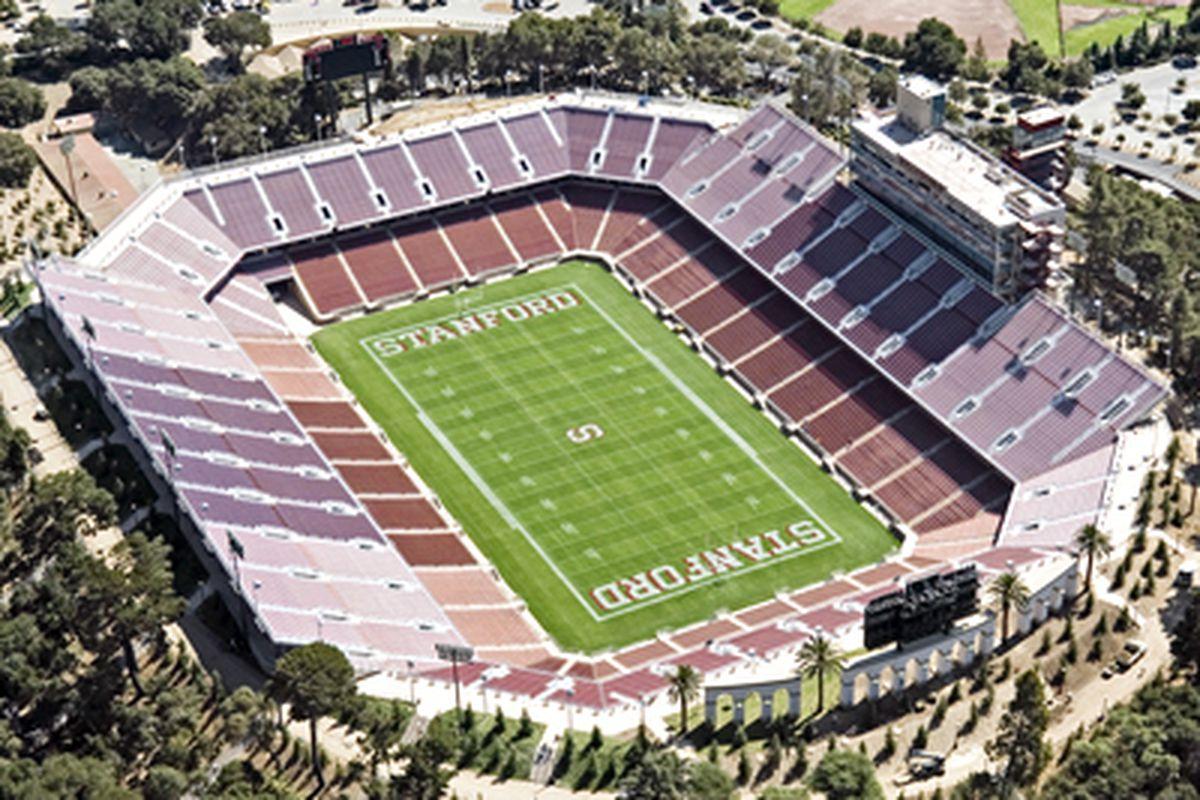 The new Stanford Stadium.