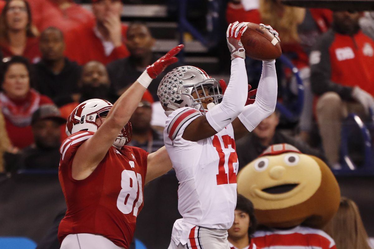 Ohio State defensive back Denzel Ward decided to sit out the Cotton Bowl on  gameday d228bec6b