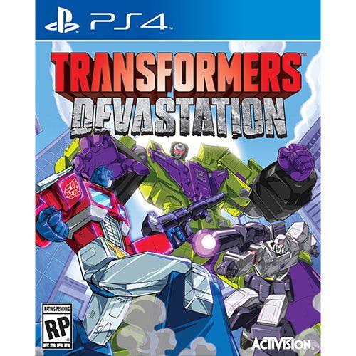 transformers devastation box art