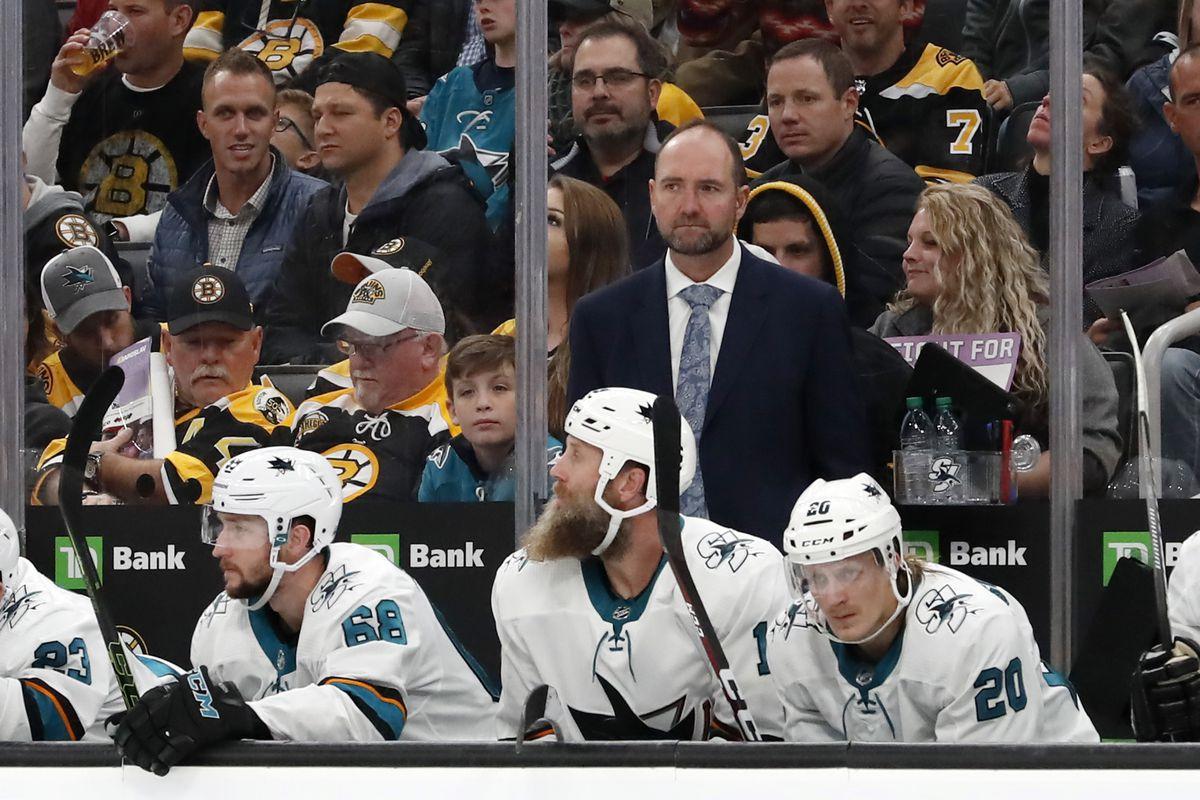 NHL: OCT 29 Sharks at Bruins