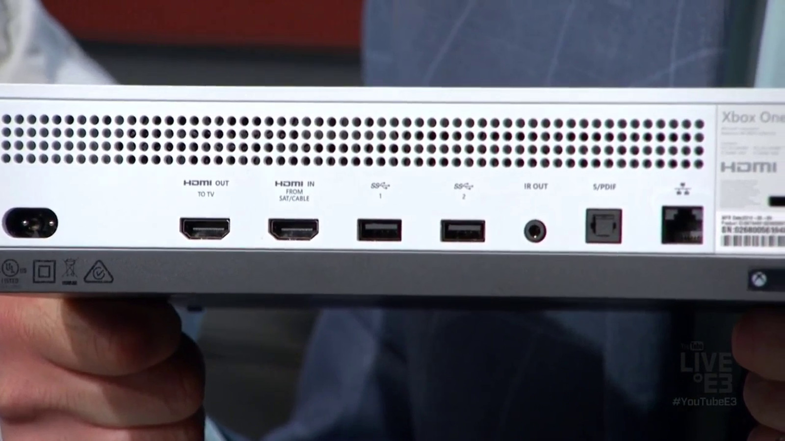 Xbox One S Console Has No Kinect Port  Requires Usb