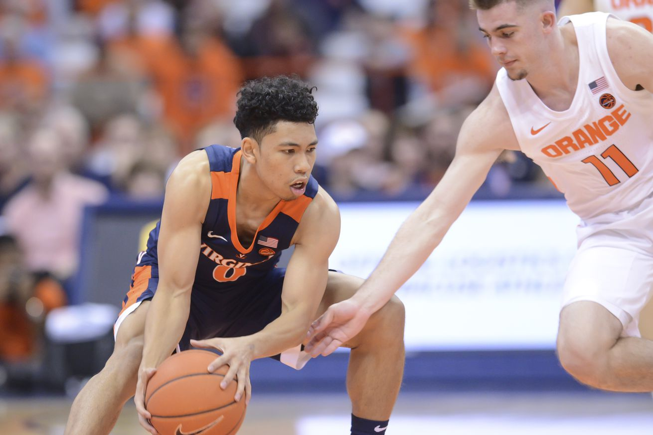 NCAA Basketball: Virginia at Syracuse