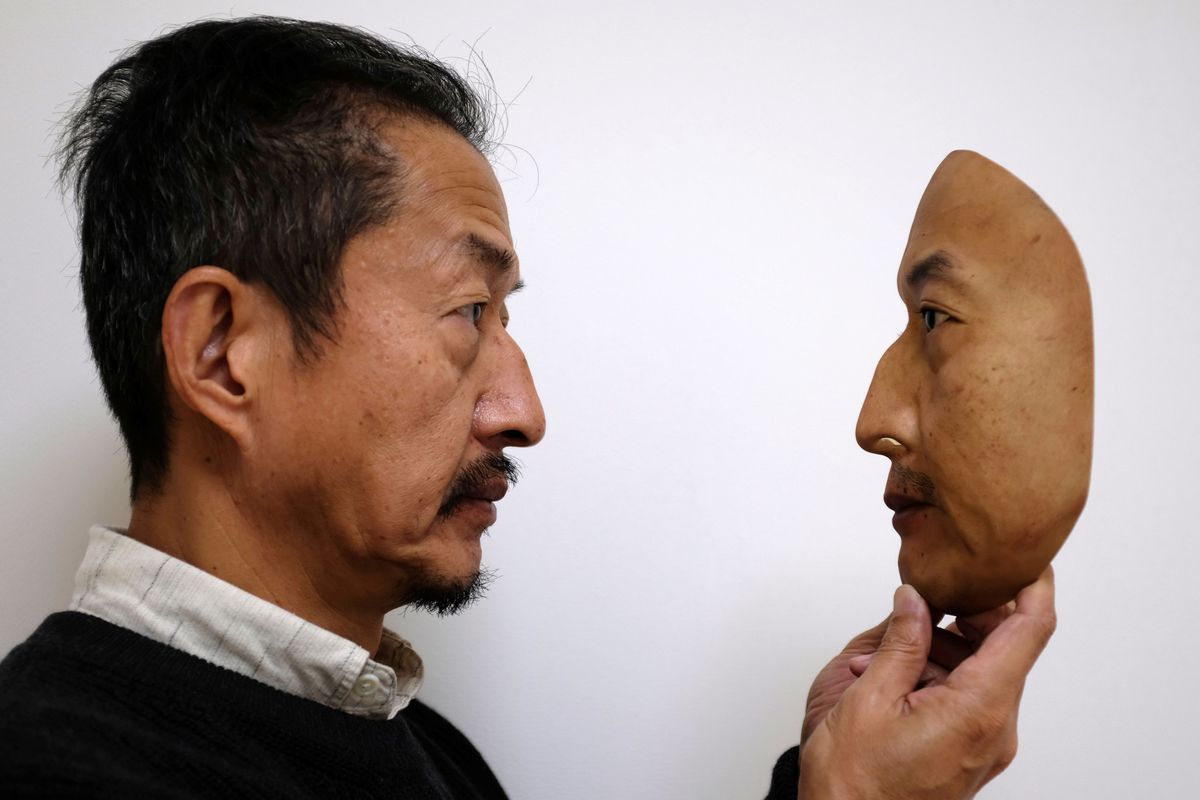 These hyper-realistic masks are being used to train facial
