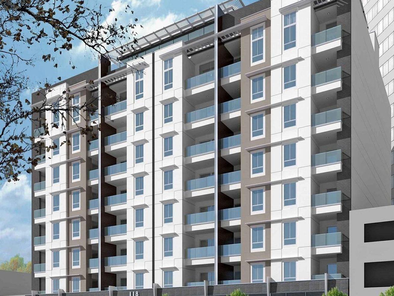 Lotus 77 will hold 77 one- and two-bedroom condos.