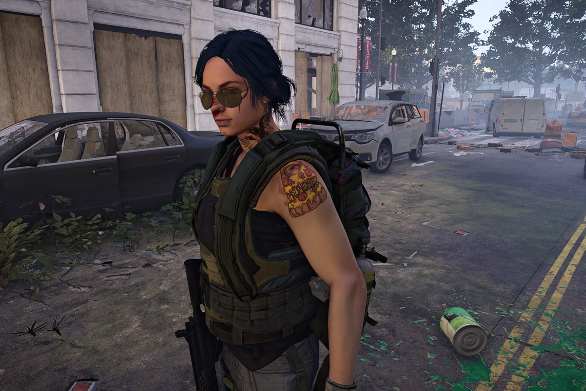 The Division 2's character creators is full of odd, alarming