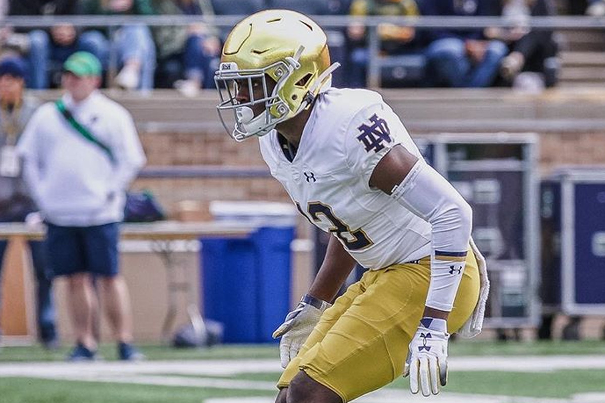 This Guy Plays Notre Dame Football: #12 DJ Brown, Defensive Back/Safety