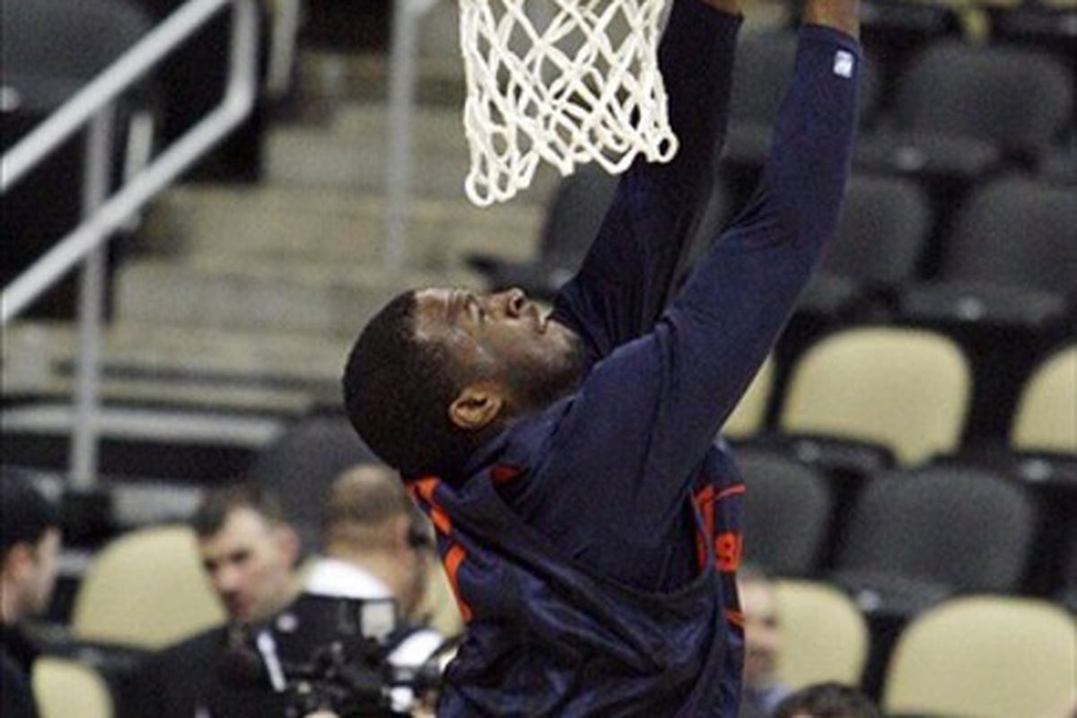 Dion Waiters is flying up draft boards the way he used to fly to the rim during his time with the Orange.  Mandatory Credit: Charles LeClaire-US PRESSWIRE