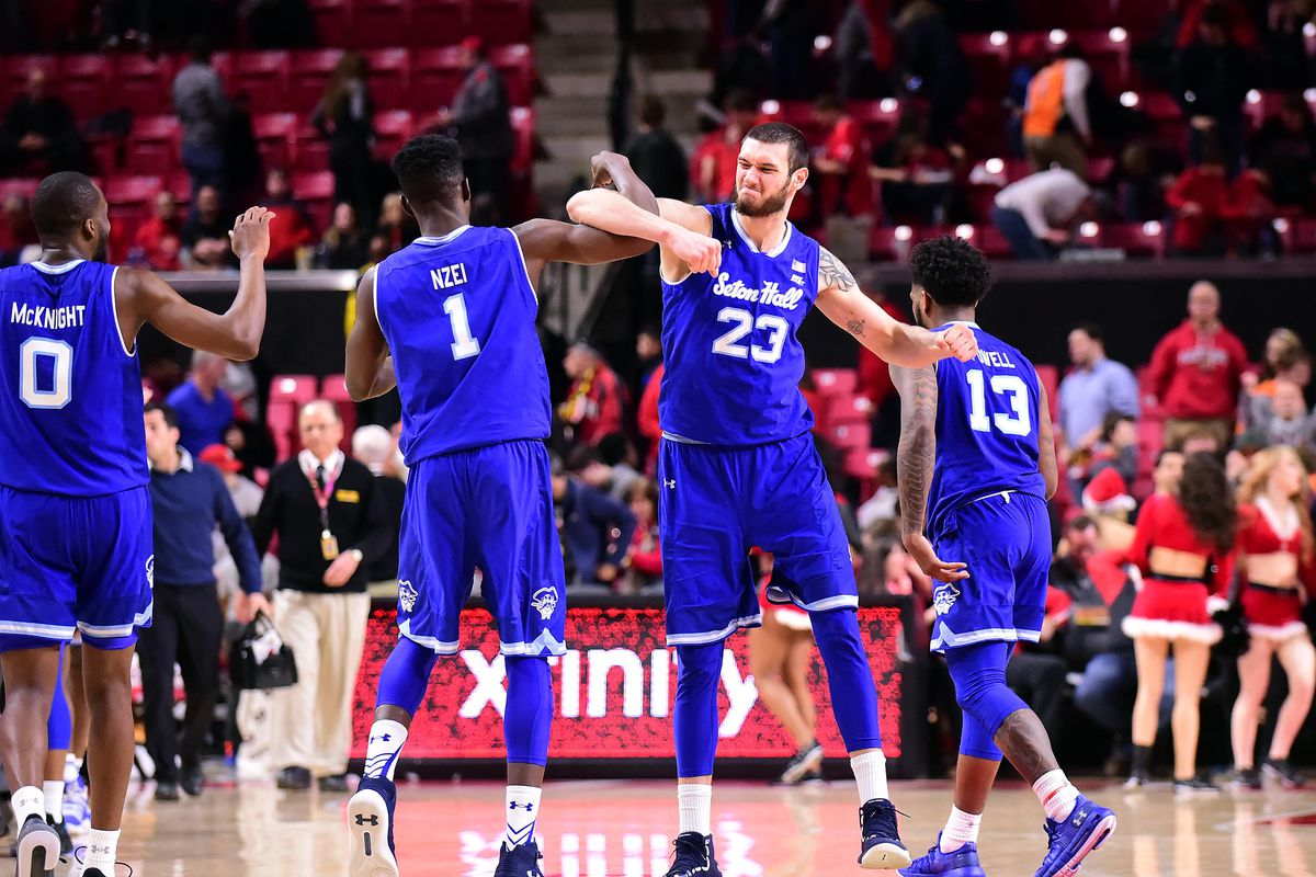 NCAA Basketball: Seton Hall at Maryland