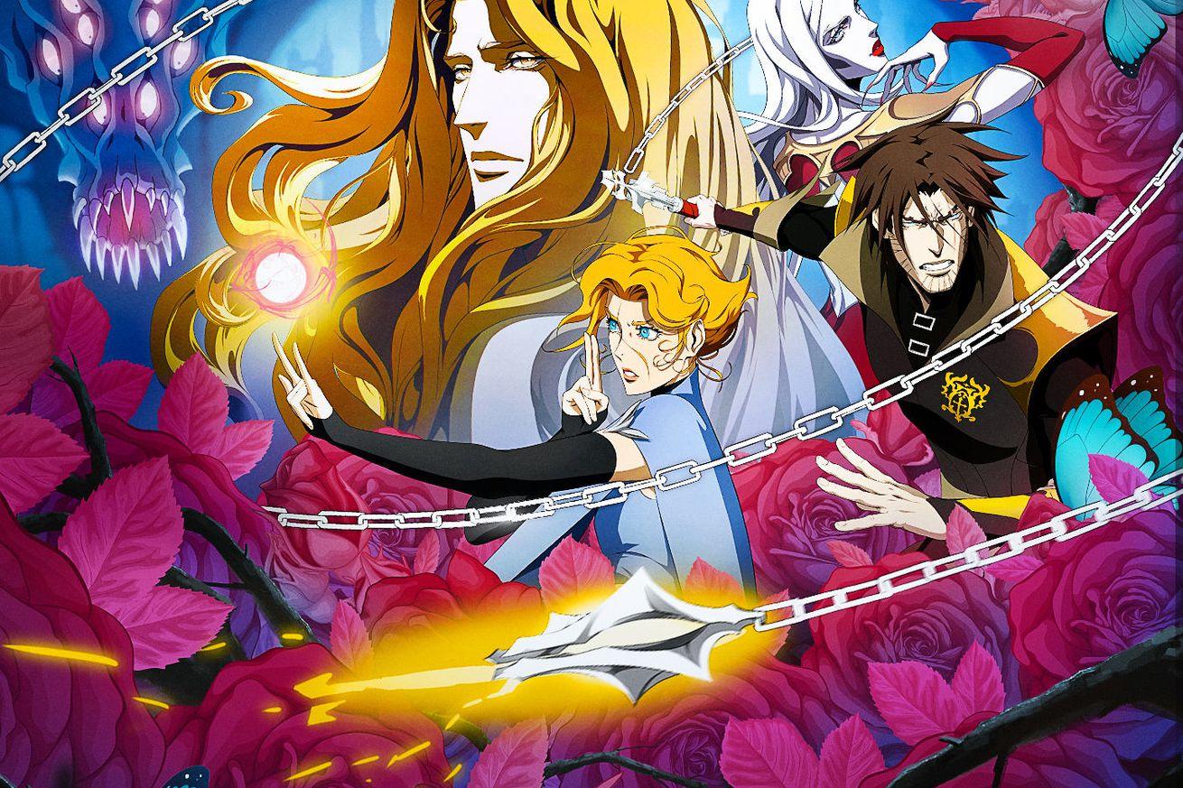 Castlevania Season 3 key art