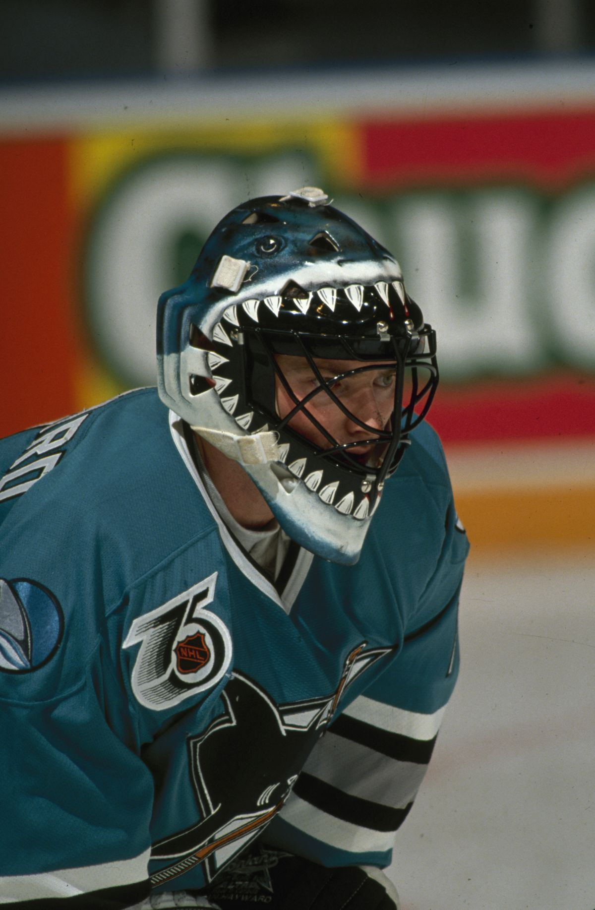 Brian Hayward On The Ice