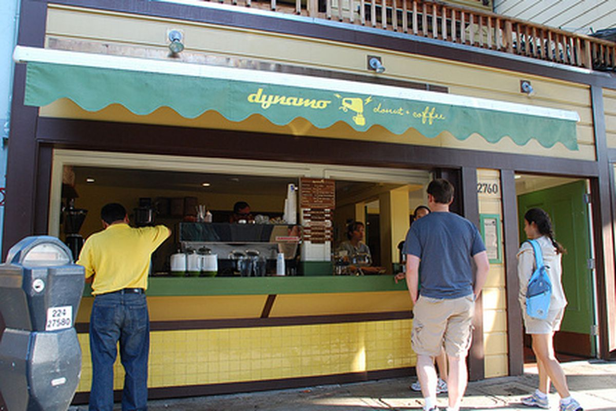 Dining at Dynamo.