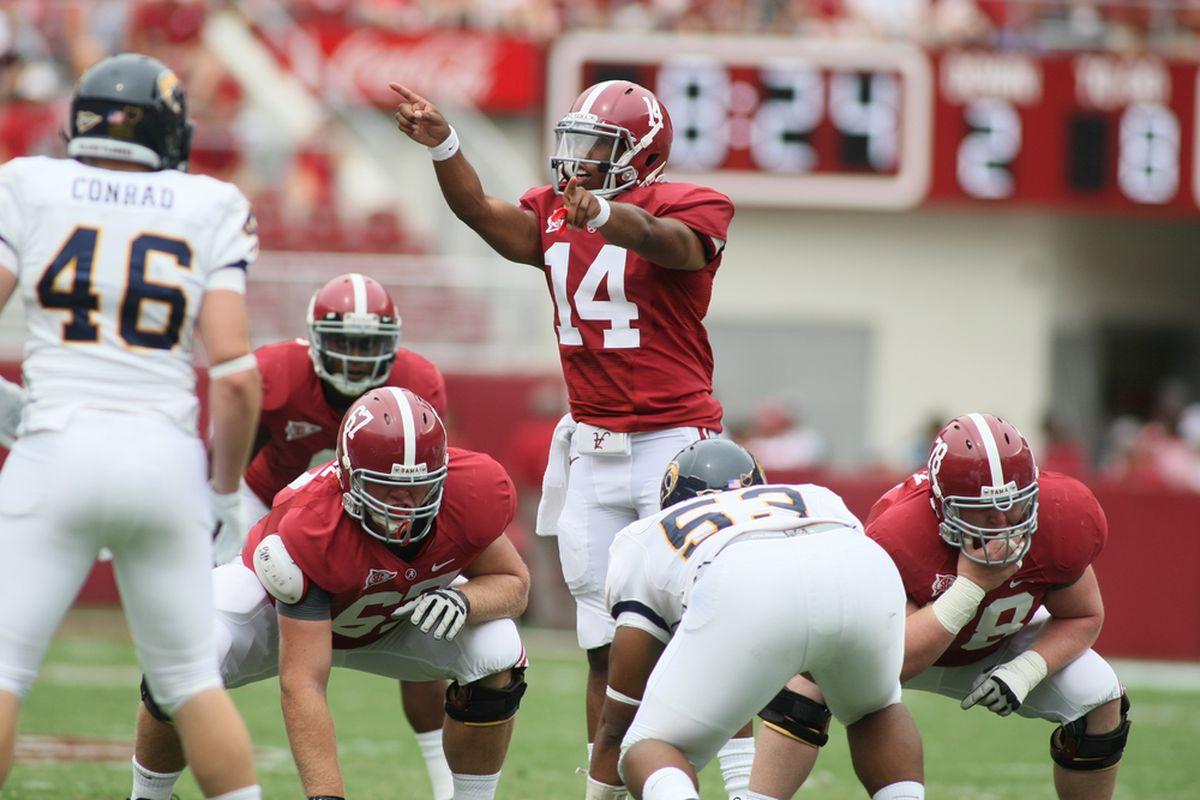 Could Alabama QB Phillip Sims soon be saying WAHOOWA to UVA?