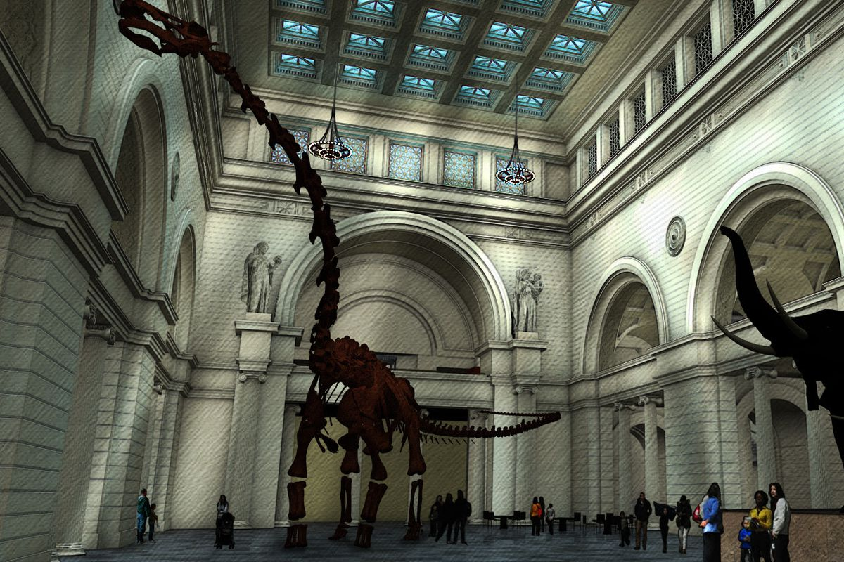 Field Museum dinosaur shuffle: Titanosaur coming, SUE on the move