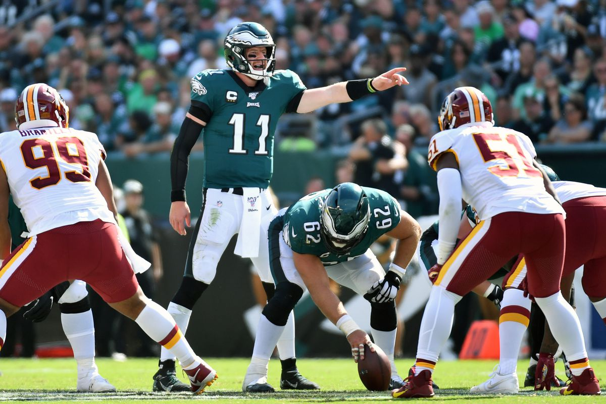 Eagles Vs Washington 2019 Point Spread Total Money Line Injury Report And More For Week 15 Draftkings Nation