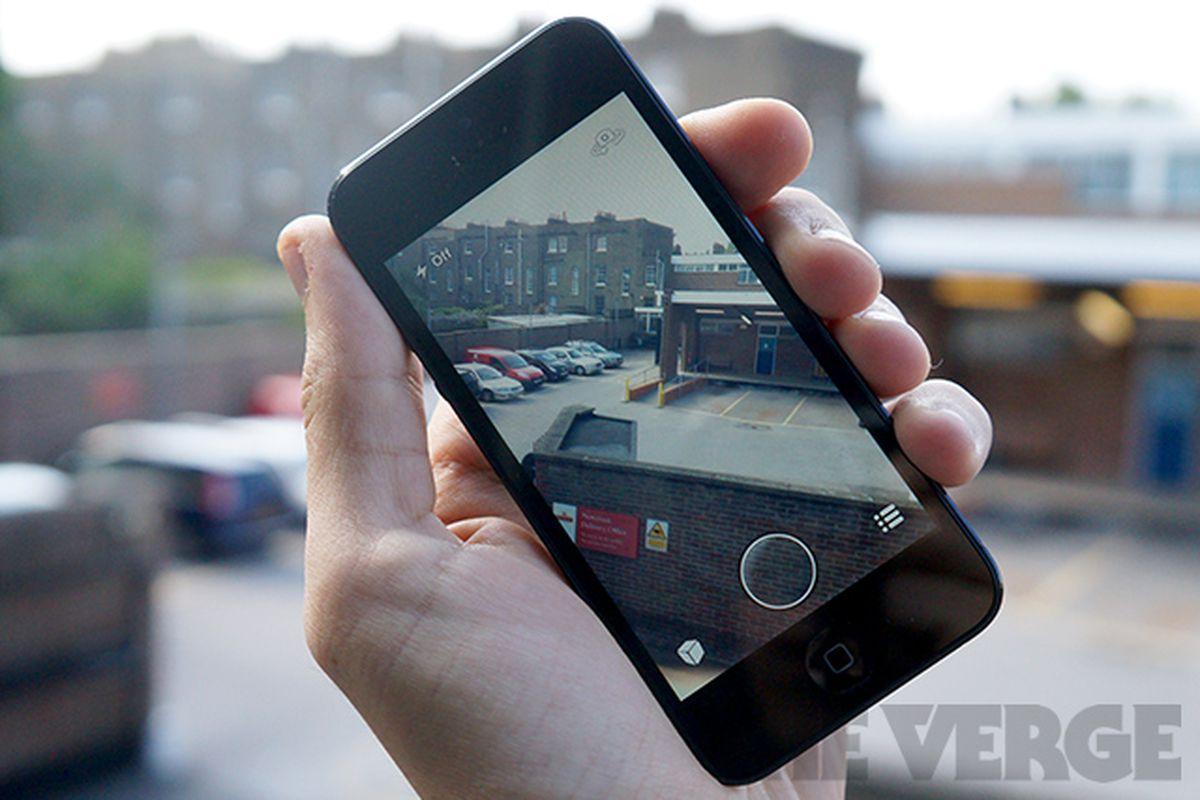 Snapchat Camera iPhone (Stock)