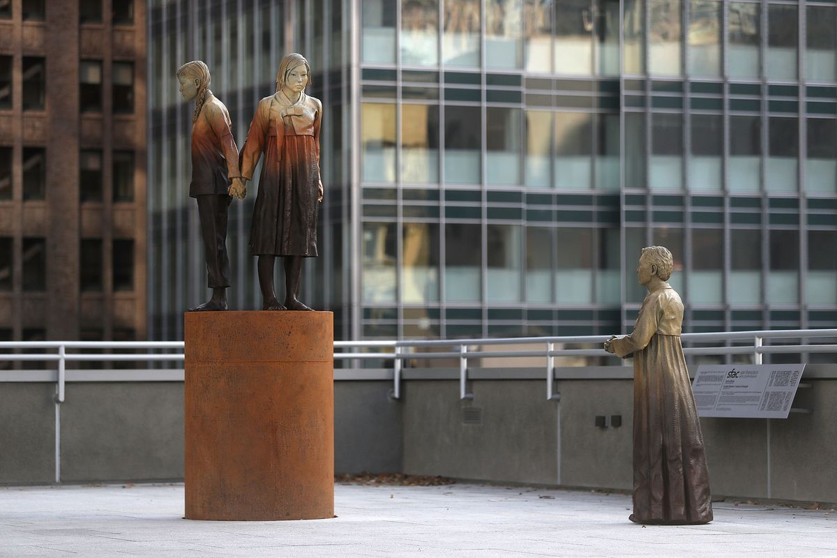 'Comfort Women' Statue In San Francisco Draws Ire From SF's Sister City In Japan