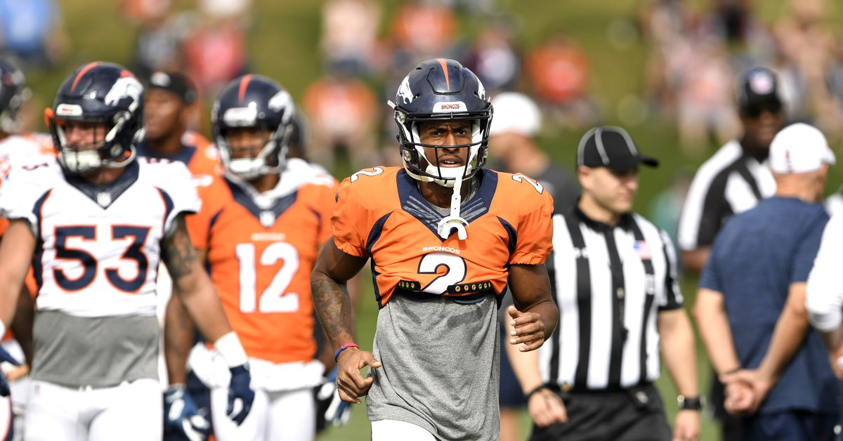 Broncos offense struggles against 49ers defense during the first day of joint practices