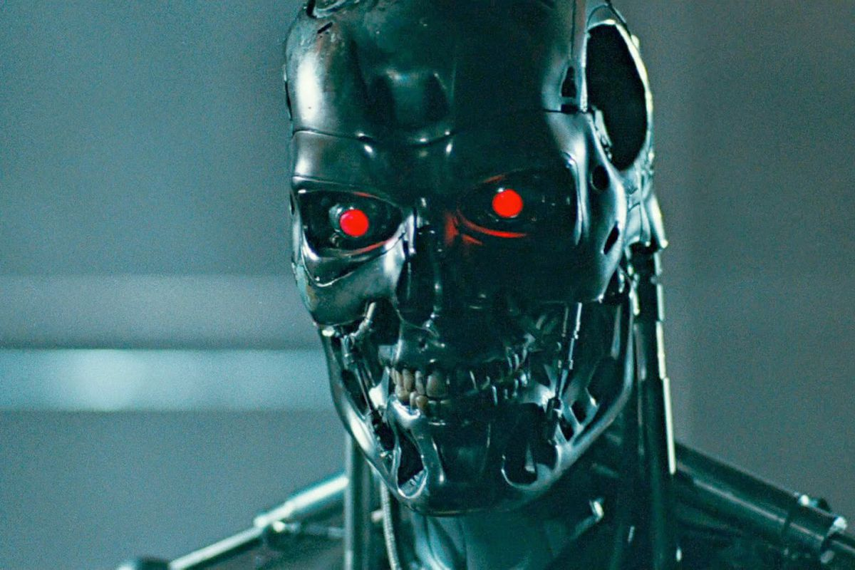 The T-800 from Terminator