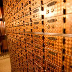 Safe-deposit boxes ... thousands of them
