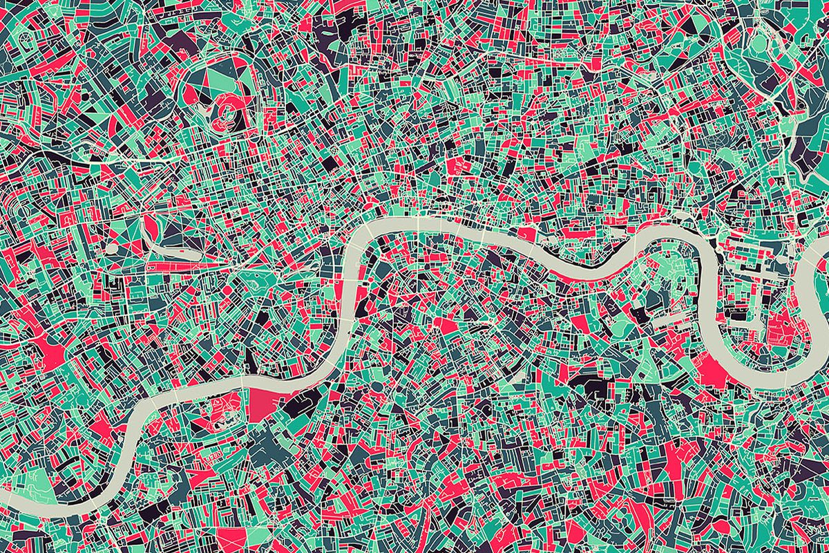 This Kickstarter Turns Metropolitan Areas Into Works Of Abstract Art The Verge