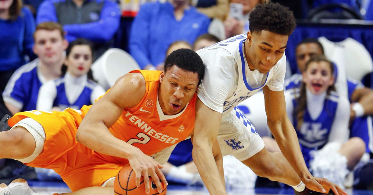 Uk Basketball: Tennessee Vols Vs. Kentucky Wildcats Basketball 2019