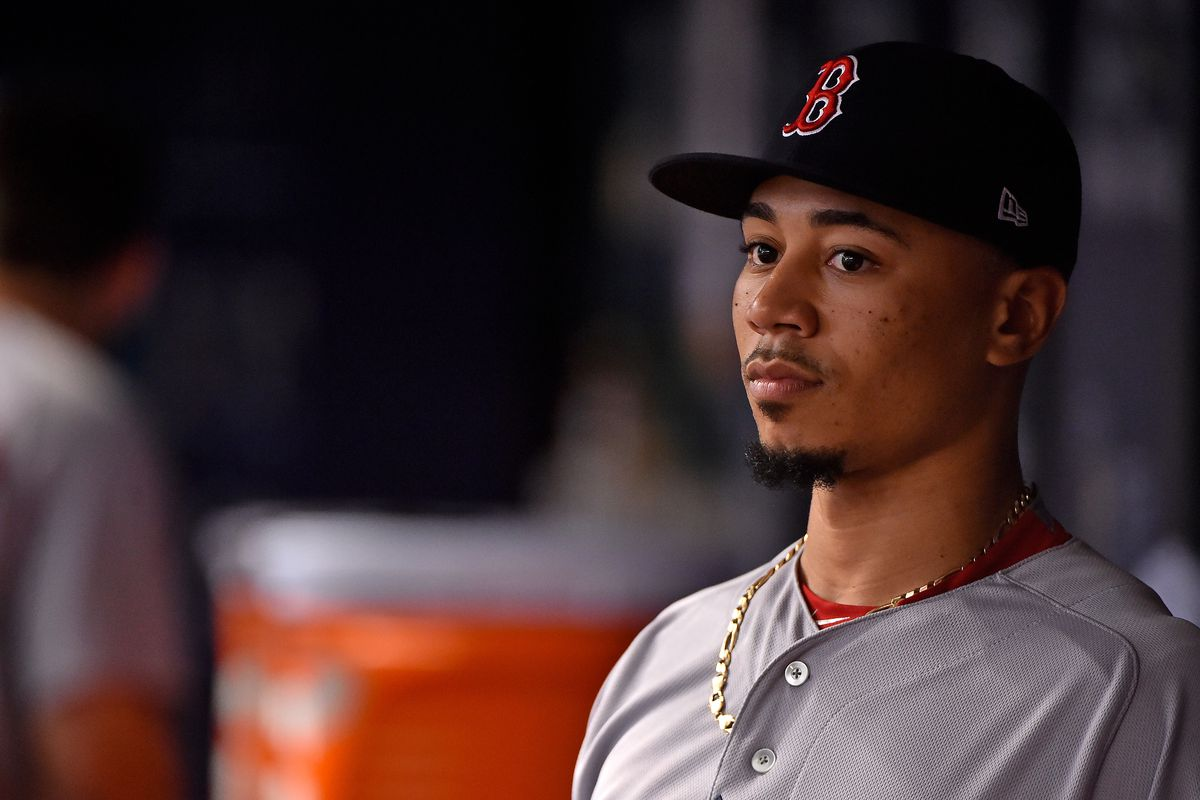 Red Sox All-Star Mookie Betts bowls a ideal  game