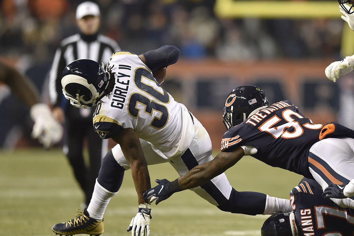 LA Rams vs. Chicago Bears first half live thread