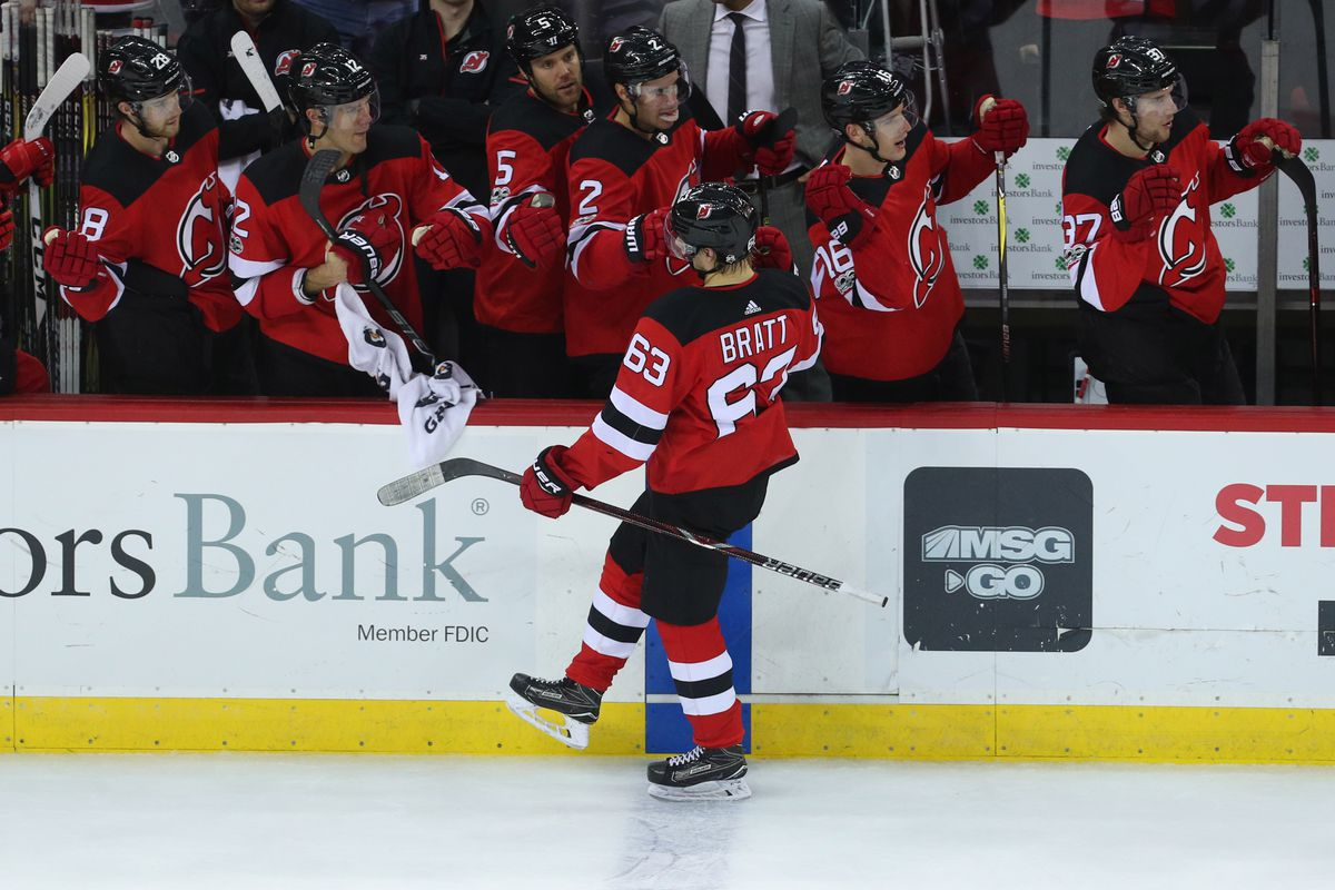 pretty nice beb03 4b70d New Jersey Devils @ Edmonton Oilers Game Thread - The Copper ...