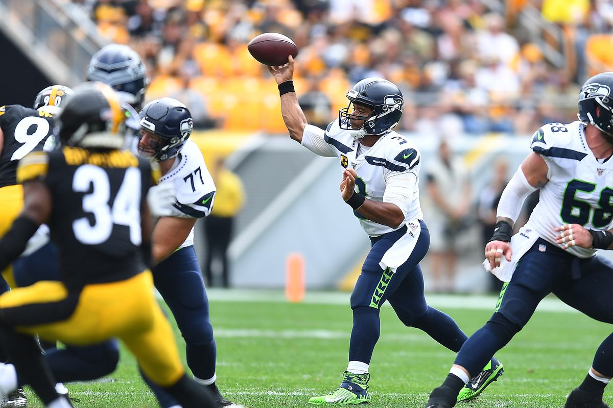 promo code 244dc 87428 Russell Wilson and Seahawks sink Steelers to 0-2 after 28-26 ...