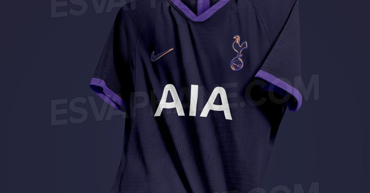 promo code 7ef1a b202a Tottenham's 2019-20 away kits just leaked, and they're ...