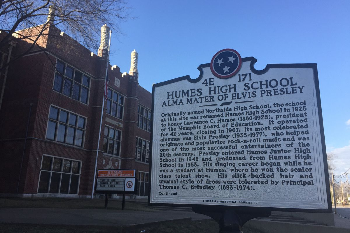 Opened in 1925 as Humes High School, the north Memphis school is now Humes Preparatory Academy Middle and operates under the purview of Tennessee's Achievement School District.  The charter school is managed by Gestalt Community Schools, which plans to exit as operator this spring.