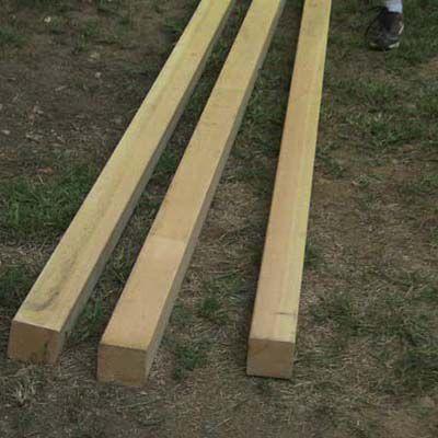 Wood For DIY Sandbox