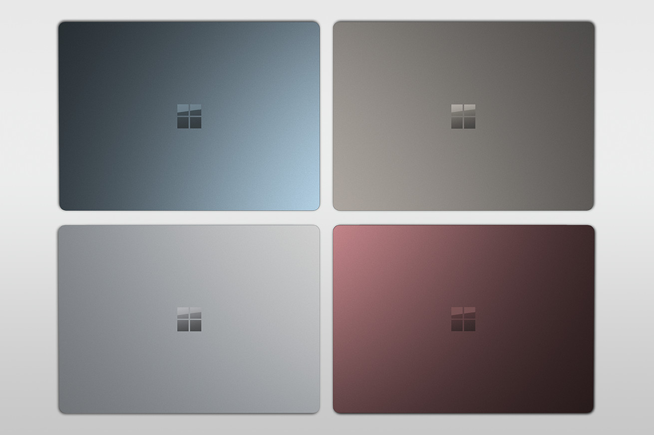 Microsoft's Surface Laptop colors now available outside the US