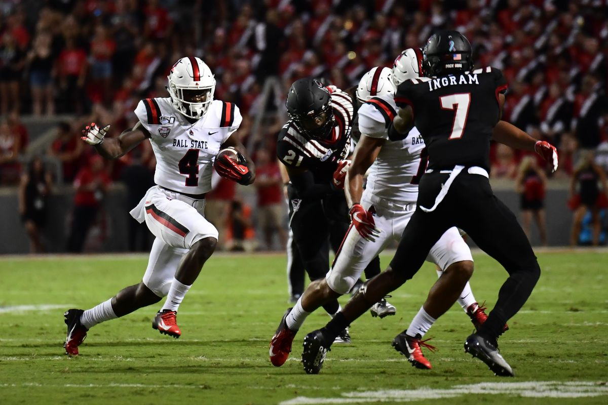COLLEGE FOOTBALL: SEP 21 Ball State at NC State
