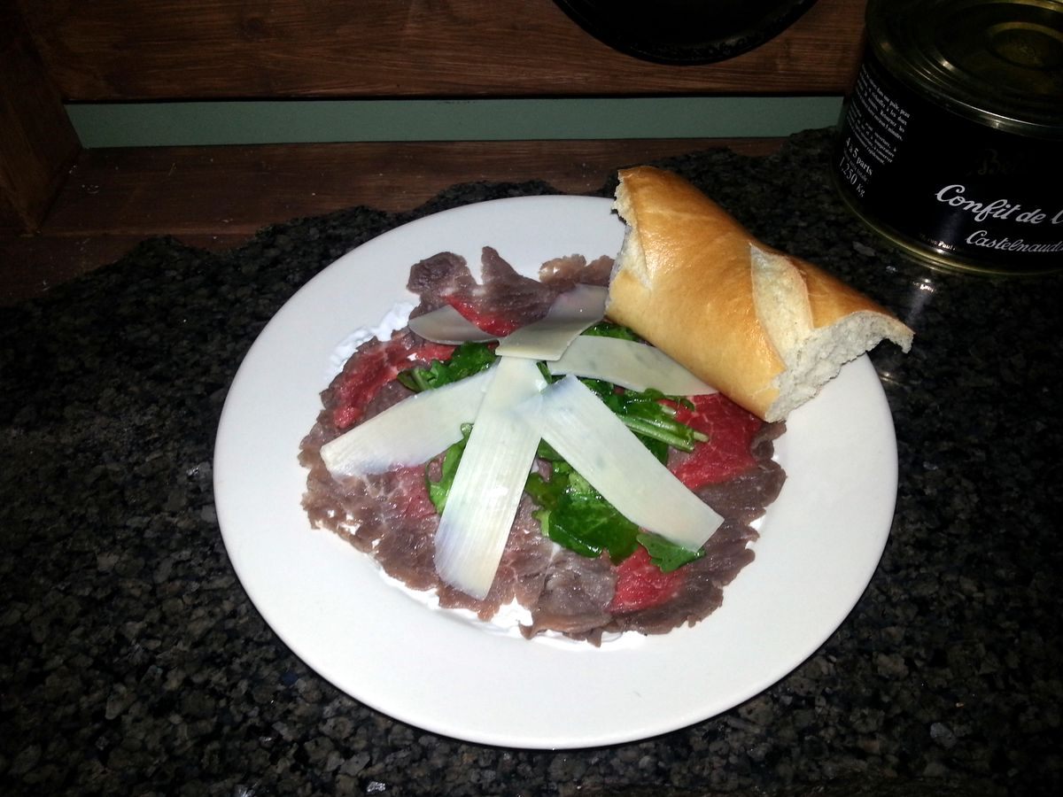 Carpaccio Plated