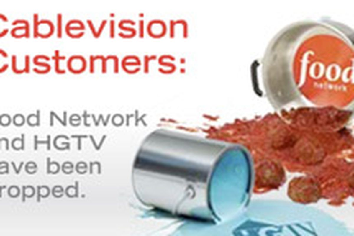 Negotiations End Between Food Network And Cablevision Eater