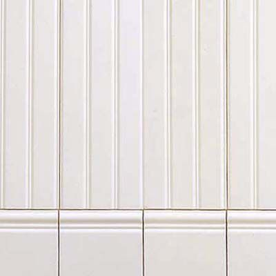 Ceramic Tile Wainscoting