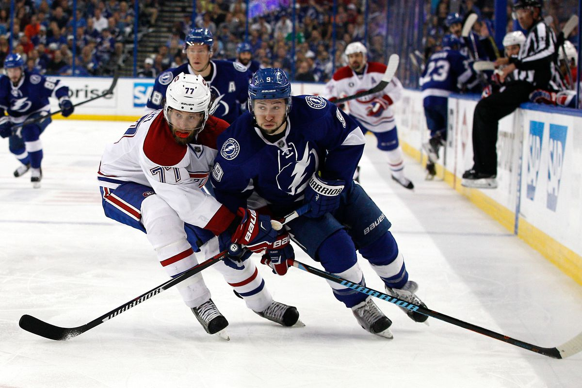 The Tampa Bay Lightning begin their regular-season battle with the Montreal Canadiens on December 28.