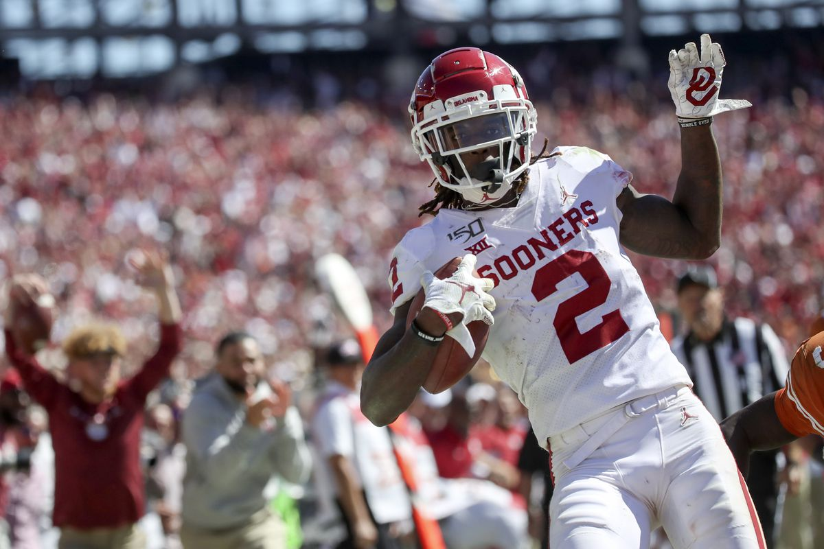 Oklahoma Football Ceedee Lamb Improved Defense Lead The Way And Three Other Lessens Crimson And Cream Machine