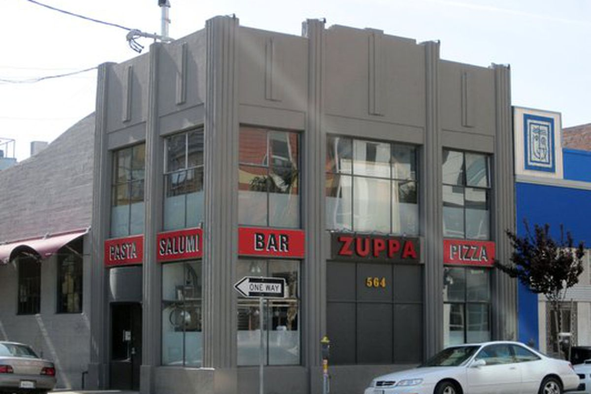 Zuppa, soon to be Cosentino's newest.